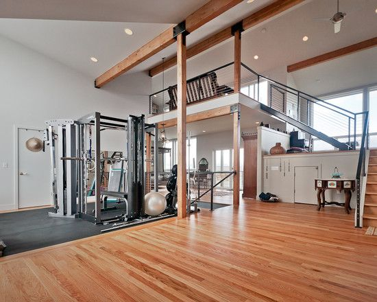 home gym design pictures remodel decor and ideas page. Black Bedroom Furniture Sets. Home Design Ideas
