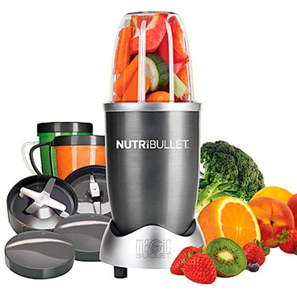 Nutribullet 600-Watt Superfood Nutrition Extractor (665 SEK) ❤ liked on Polyvore featuring home, kitchen & dining, small appliances, fruit juice blender, juice blender, fruit blender, nutribullet blenders and vegetable blender
