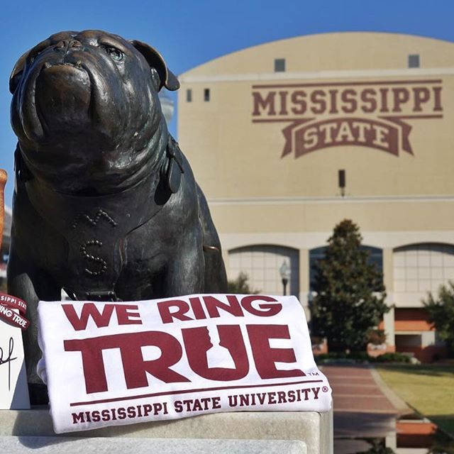 Do you RING TRUE? Like and comment on this post for a chance to win this week's #WeRingTrue gear, including a cowbell signed by Dan Mullen and members of the MSU football team! Winner will be selected Friday.