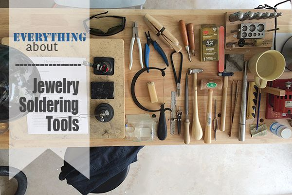 Are you interested in starting soldering jewelry? Learn all about the tools you need and how they fit in the process.
