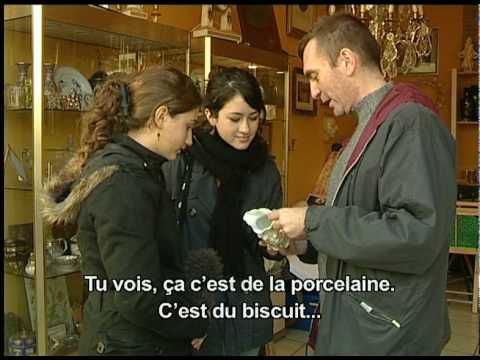 Loescher La France et les français - 1 Au marché aux puces_avec sous-titres - YouTube