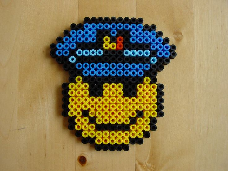 Smiley politie similers2 en perler a repasser pinterest smileys - Perle a repasser smiley ...