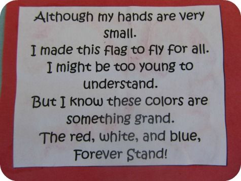 Little Handprints Poem   It's an easy craft with (hopefully) little mess. A great way to ...