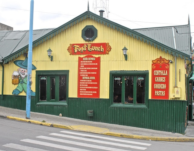 An Irish pub in Ushuaia