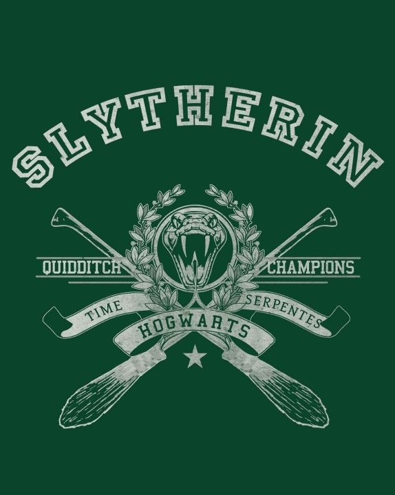 HOUSE OF THE SERPENT T-Shirt $12 Harry Potter tee at Once Upon a Tee!