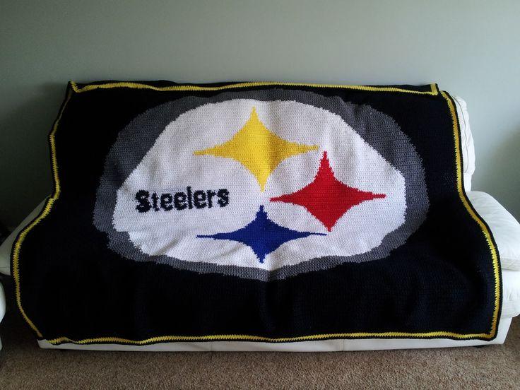 1000 Ideas About Steelers Blanket On Pinterest Loom
