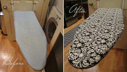 Before & After: DIY Ironing Board Cover