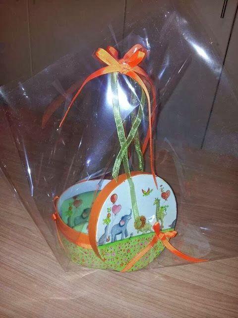 BellesCreations.gr: Σετ παιδικά σαπούνια με όμοιο κουτί μεταφοράς.