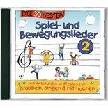 Kinder-CD Spiel- und Bewegungslieder 2