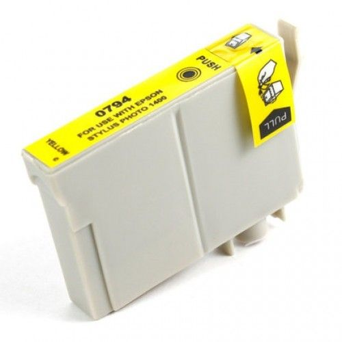 Buy T0794 (T079420) HY Yellow Ink Cartridge for Epson at Houseofinks.com. We offer to save 30-70% on ink and toner cartridges. 100% Satisfaction Guarantee.