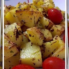 Resepi Kentang Panggang Rosemary (Roasted Potatoes with Rosemary)