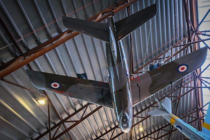 RAF Cosford Sabre & Hunter