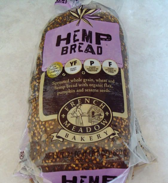 French Meadow Bakery Hemp Bread