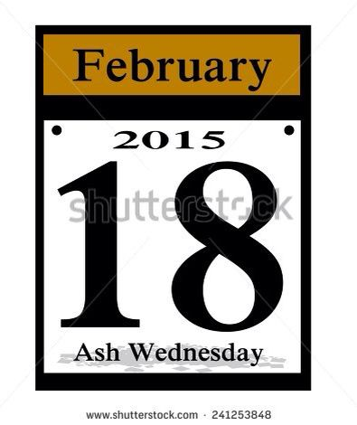 HAPPY ASH WEDNESDAY..... THE MEANING OF ASH WEDNESDAY...Ash Wednesday is the first day of the Lenten season, a period of 40-some days focused on spiritual purification and repentance. It is a day of fasting for Catholic and Anglican churches. Ash Wednesday gets its name from the practice of the distribution of ashes upon the foreheads of Christians.   What do the black marks mean?  Those black marks are meant to be crosses, although as the day wears on they can look like black smudges. They…