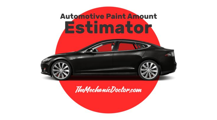 Automotive Paint Amount Estimator - Quick reminder we created for Auto Body Repair student that they can keep somewhere safe and reach out to when needed.