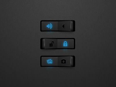 a nice switch button ui