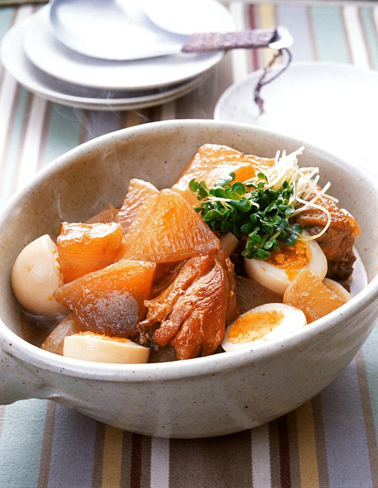大根と鶏肉の甘辛煮 | 大久保恵子さんのレシピ【オレンジページnet】プロに教わる簡単おいしい献立レシピ