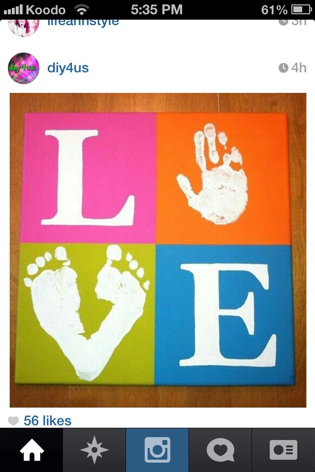 Such a cute idea to do with your kids.