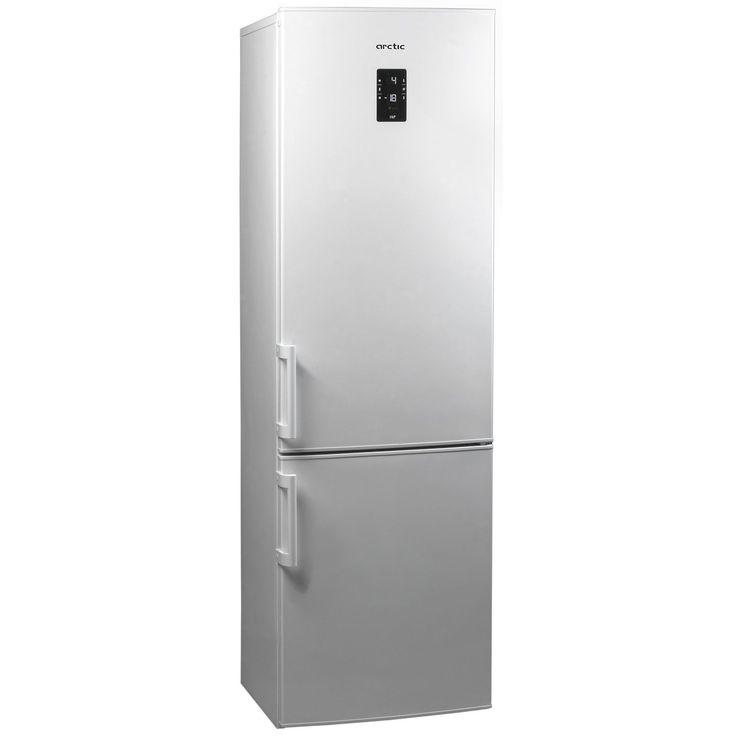 Combina frigorifica Arctic ANK366NF+, NoFrost, 321 l, Clasa A+, H 201 cm, Alb Volumul net total de care poti profita este de 321 litri, dintre acestia 231 litri sunt destinati frigiderului iar congelatorul detine un volum net de 90 litri. Dimensiunile aparatului nostru frigorific sunt 201 x 59.5 x 60 cm, suficienti pentru a depozita alimentele intregi familii.