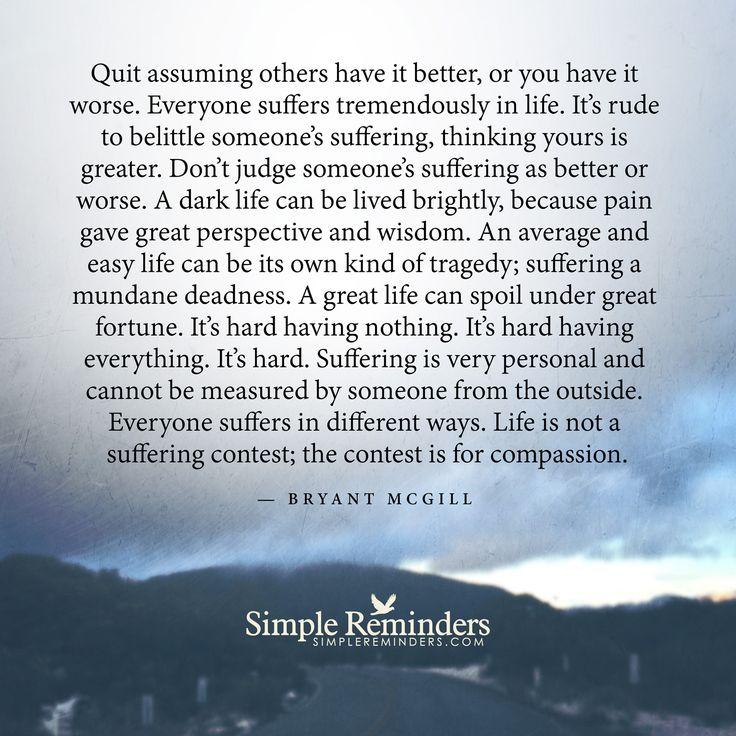 Gaining wisdom from suffering