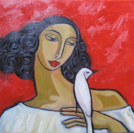 A+White+Bird