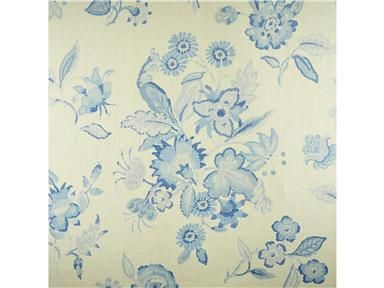 Blithfield HADLEIGH BLUE BFC-3633.5 - Lee Jofa New - New York, NY, BFC-3633.5,Lee Jofa,Print,White,S,Up The Bolt,Floral Large,Multipurpose,United Kingdom,Yes,Blithfield,The Langham Collection,HADLEIGH BLUE
