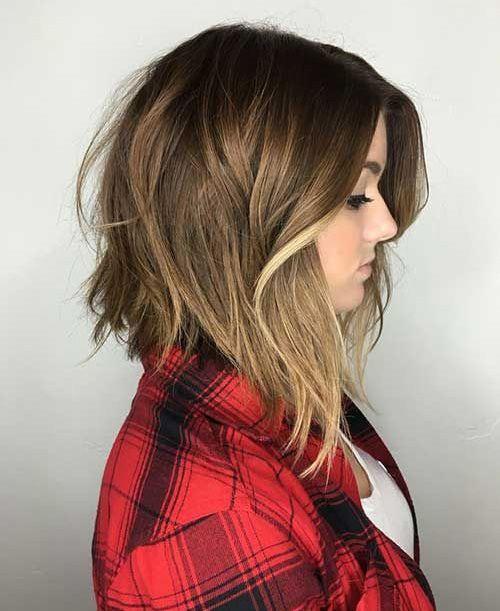 17 Best ideas about Medium Haircuts For Women on Pinterest | Medium ...