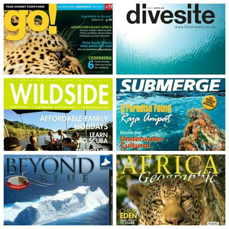 Just some of the popular magazines our environmental journalism and travel writing interns have been published in. Well done all!