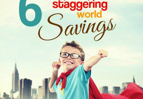 6 simple steps to staggering world savings