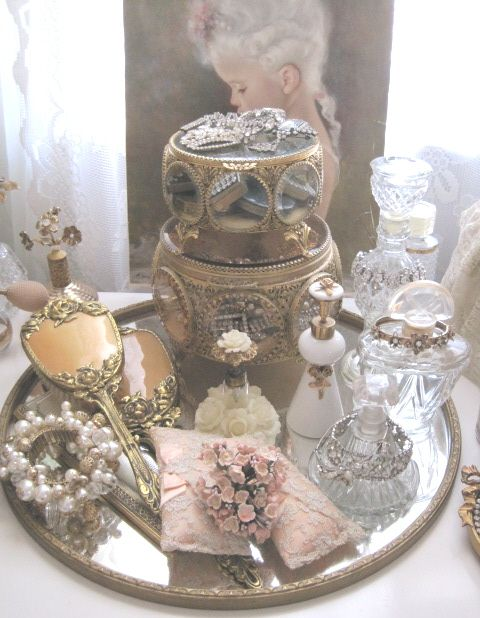Fabulous Dressing Table Treasures