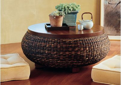 Ottoman coffee tables decorating ideas