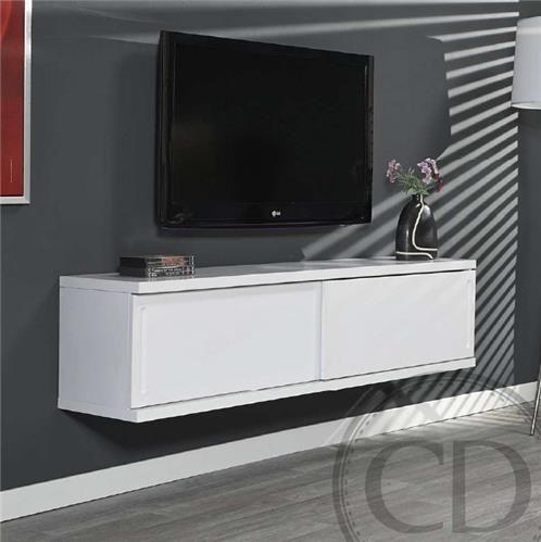 Best 25 meuble tv suspendu ideas on pinterest tv suspendu meuble tv flottant and tag res - Meuble tv encadrement ...