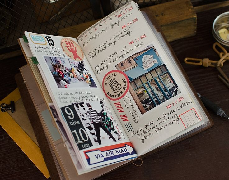 Midori Notebook - March | by Marie's Shots
