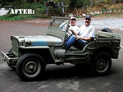 Darryld S Wwii Army Jeep Project Journal In 2020 Jeep Monster