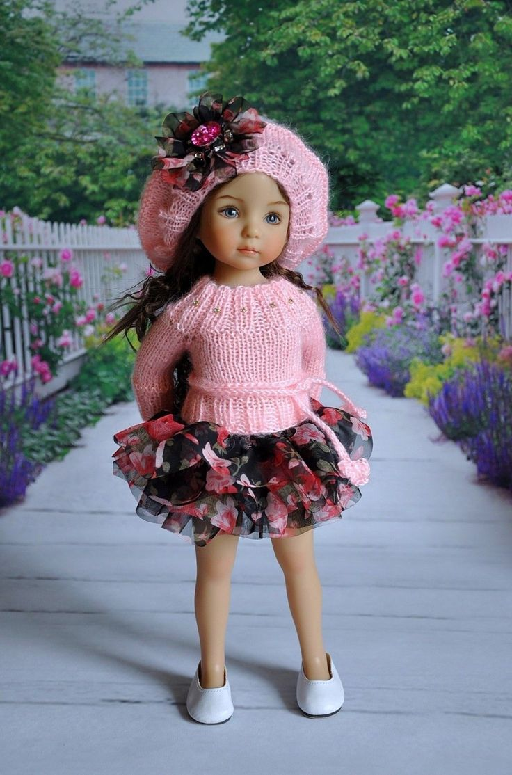 Ooak Outfit FOR Dolls Little Darlings Effner 13"