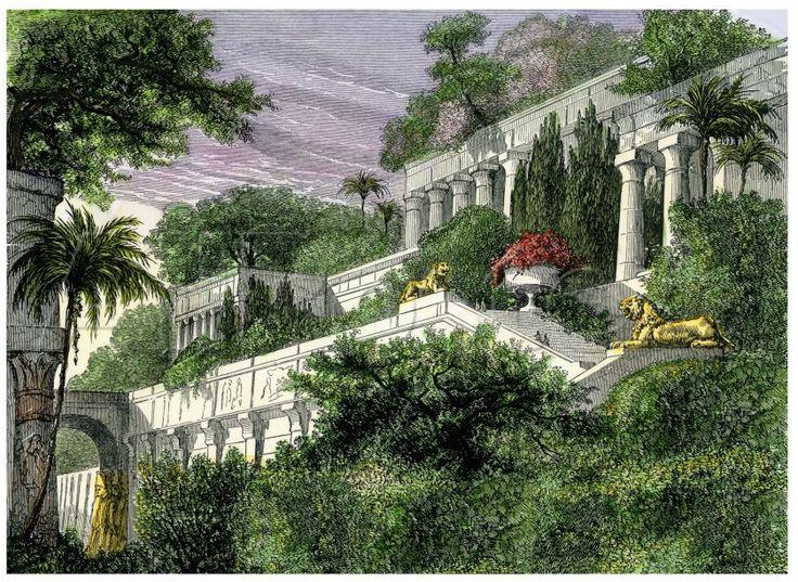 Gardens Hanging Gardens And World On Pinterest