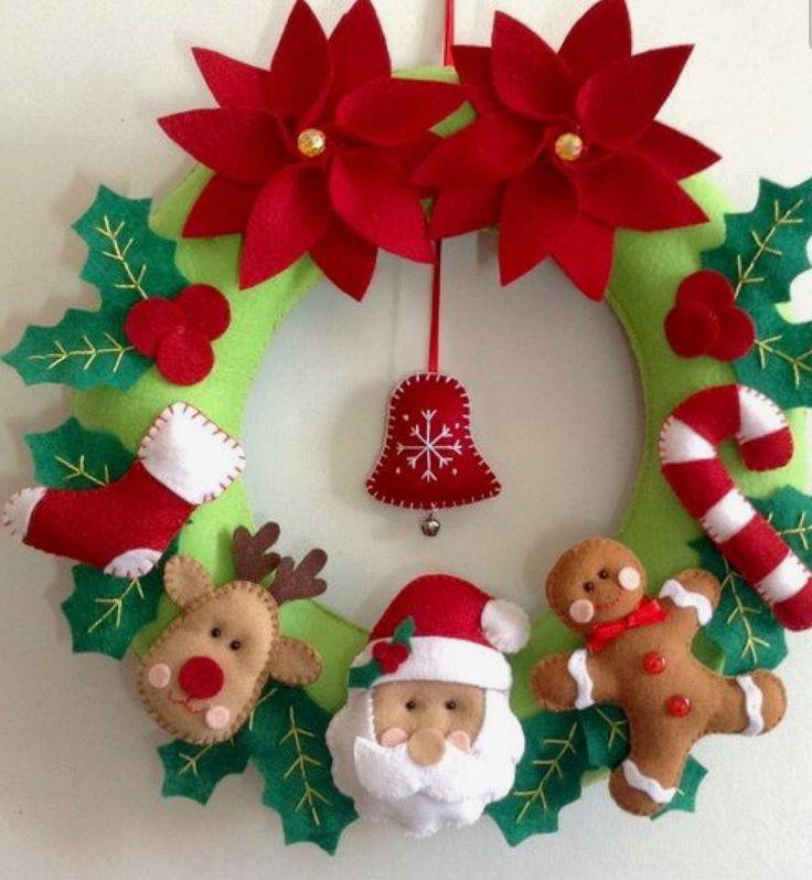 Christmas felt ideas