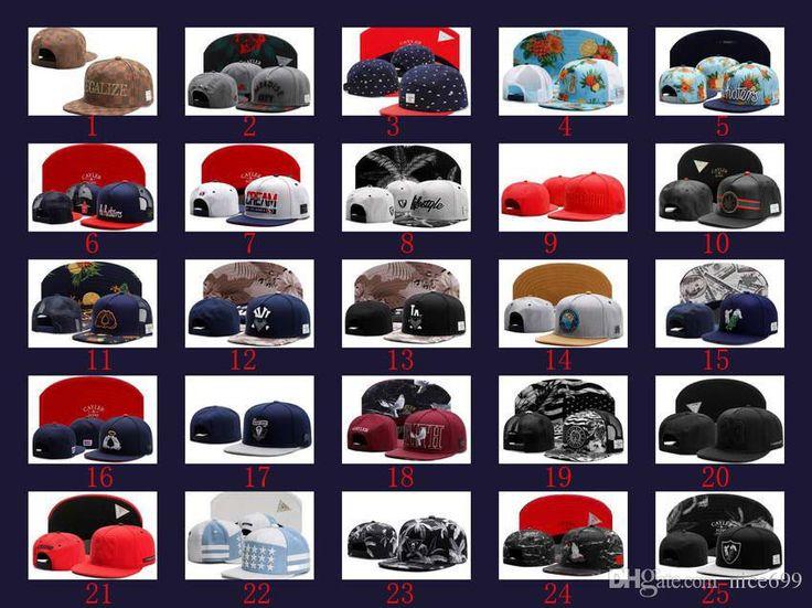 2017 New Hot Cayler & sons Snapback Hats Baseball Caps snapbacks men diamond kid hat Football Cap Adjustable Caps 10pcs/lots