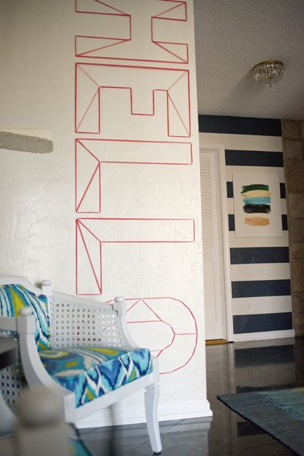 ideas about Washi Tape Wall on Pinterest Masking