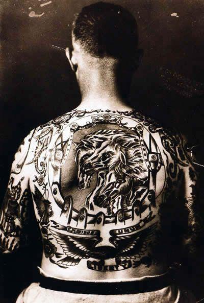 Louie Simmons Tattoos