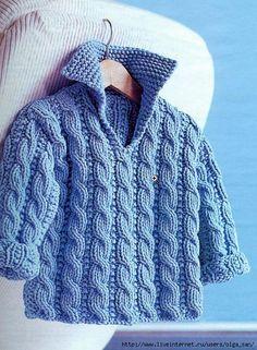 camisola tricot criança