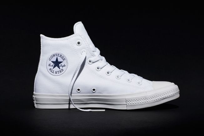 Converse Unveils the Chuck Taylor II. Here's What It Looks Like, and How They'll Market It | Adweek