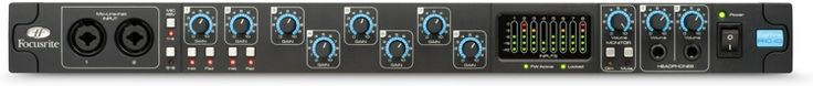 20-in/20-out 24-bit/96kHz FireWire Interface with 8 Microphone Preamps, ADAT/SMUX, S/PDIF, MIDI I/O, and Plug-ins