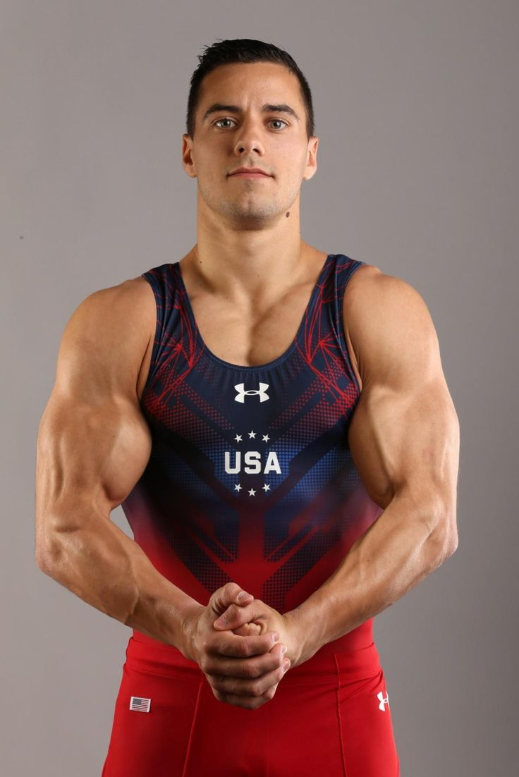 We couldn't just pick one gymnast! Jake Dalton, and his amazing muscles, will be…