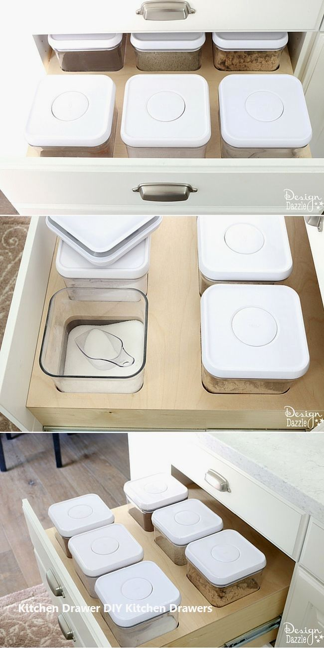 New DIY Kitchen Drawer Ideas