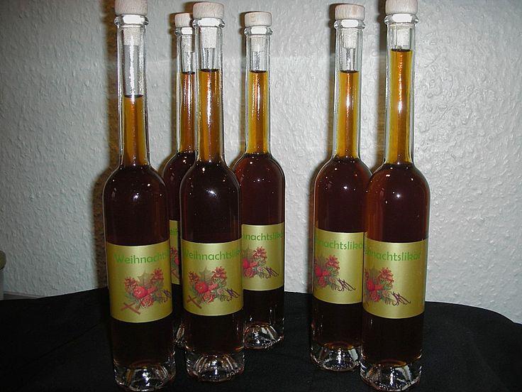 Weihnachtslikör, ein schönes Rezept aus der Kategorie Likör. Bewertungen: 118. Durchschnitt: Ø 4,4.