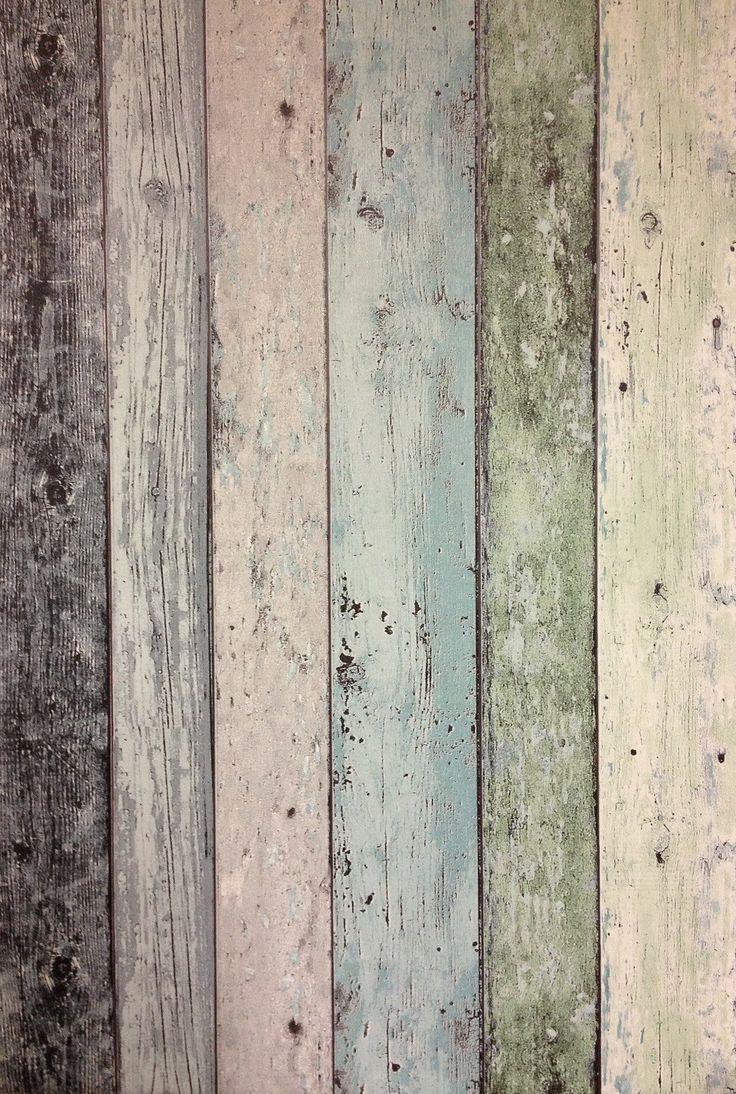 Steigerhout behang: Ideas For, New House, For Poor, Wallpaper Shop En ...