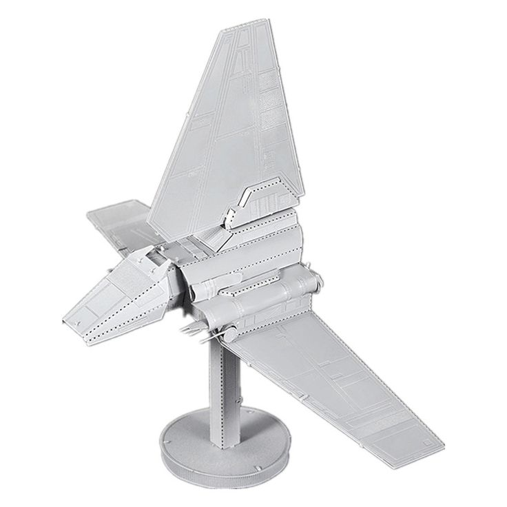 Colorful Star Wars Imperial Lambda-class Shuttle Metal Model //Price: $26.60 & FREE Shipping //     #3DMetaltoys #Metal #Puzzle #3D #3DPuzzle #metalpuzzle #metalpuzzles #3dmetalpuzzles