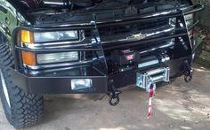 Front winch bumper 88-00 Chevrolet & GMC pickups 92-94 Blazer 92-99, Suburban and Tahoe (1988-1999): BlueLakeOffroad