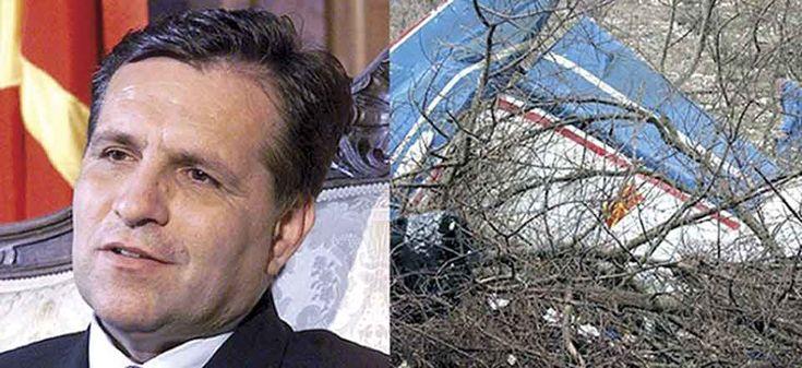 Heute vor 14 Jahren - Mazedoniens Präsident Trajkovski kommt bei Flugzeugabsturz ums Leben